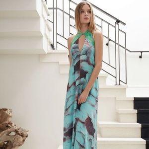 Alexis Elis Halter Dress Size M